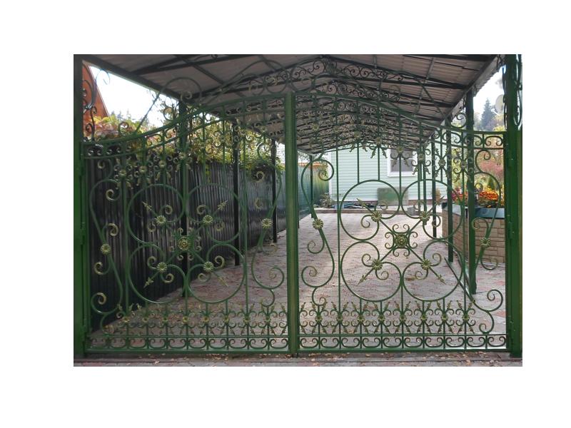Ворота43 закладная рама для откатных ворот