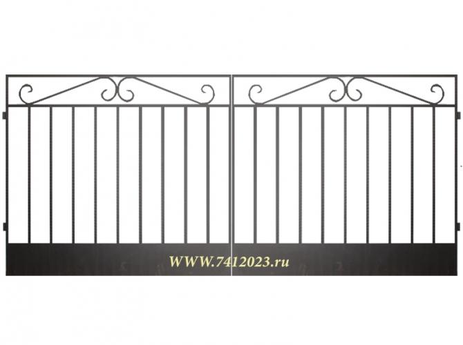 Ворота сварные №3 - 7412023.ru