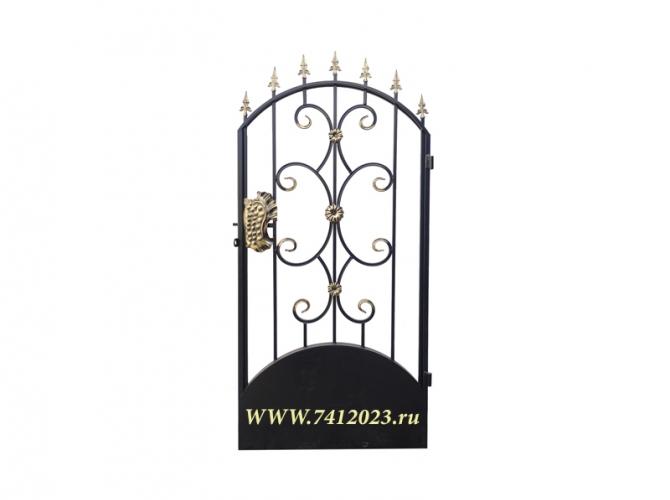 Калитка к кованым воротам №9 П - 7412023.ru