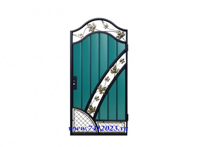 Калитка к кованым воротам №58 - 7412023.ru