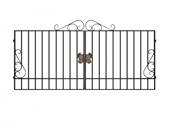 Ворота сварные №12 - 7412023.ru