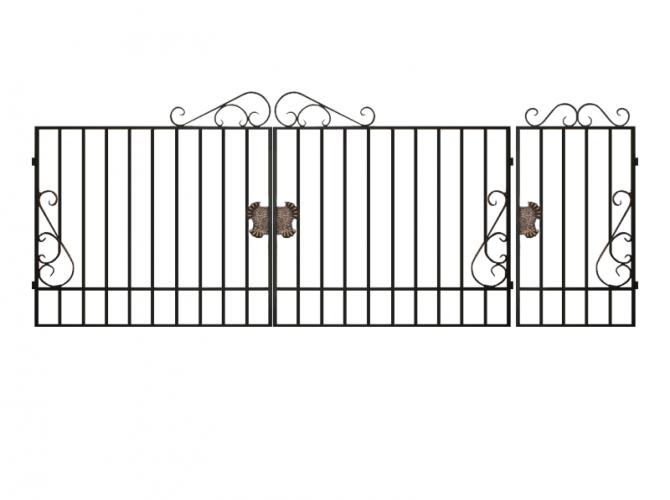 Калитка к сварным воротам №12 - 7412023.ru
