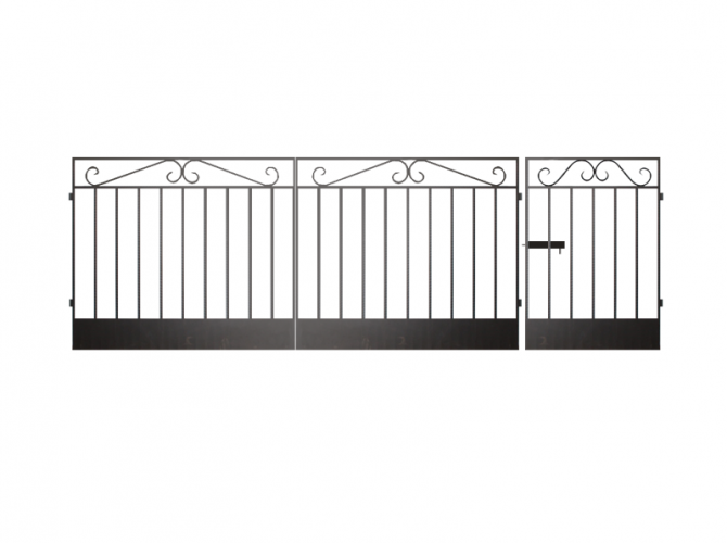 Калитка к сварным воротам №3 - 7412023.ru
