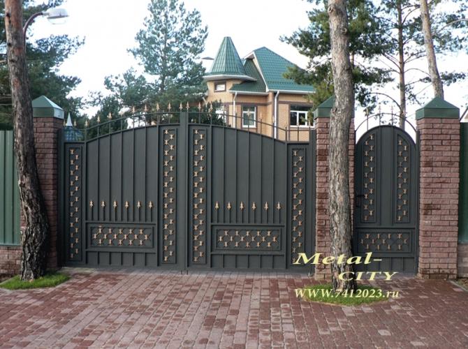 "Ворота №16 ""Клеопатра"" - 7412023.ru"