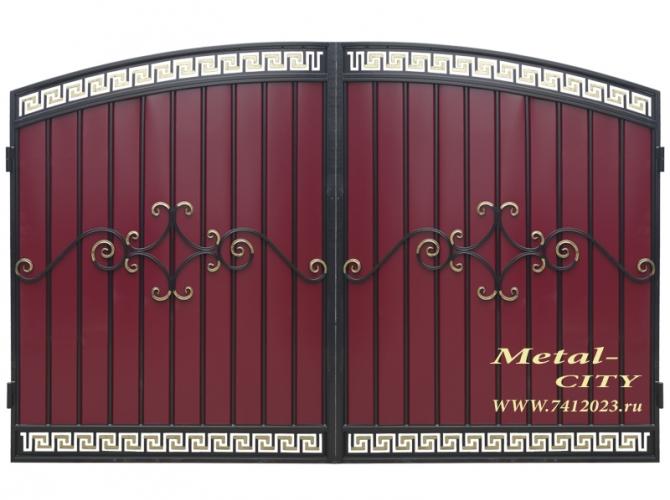 Ворота кованые №52 - 7412023.ru