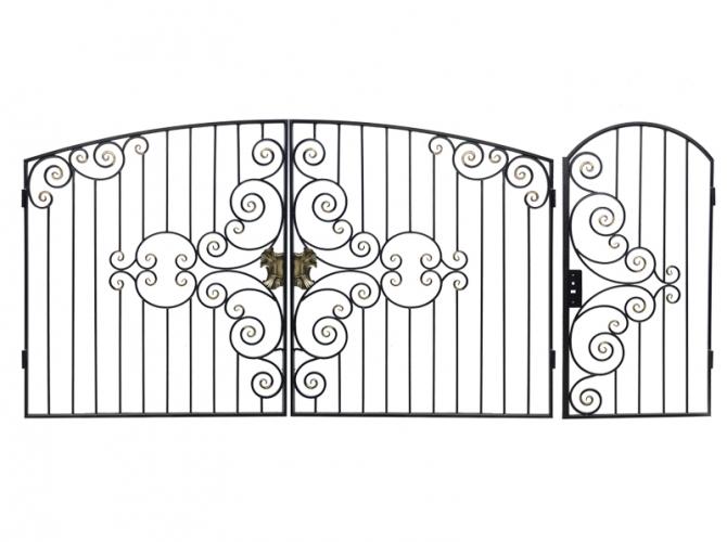 Ворота  кованные №54 - 7412023.ru
