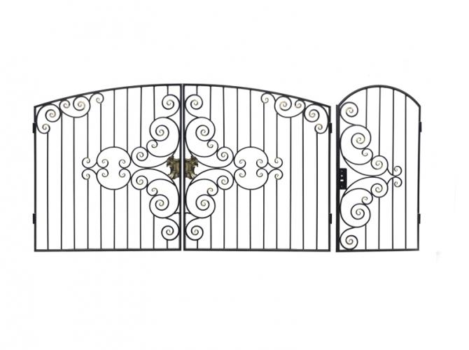 калитка к воротам №54 в коттеджный участок - 7412023.ru