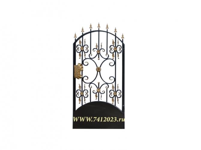 Калитка к кованым воротам №23-П - 7412023.ru
