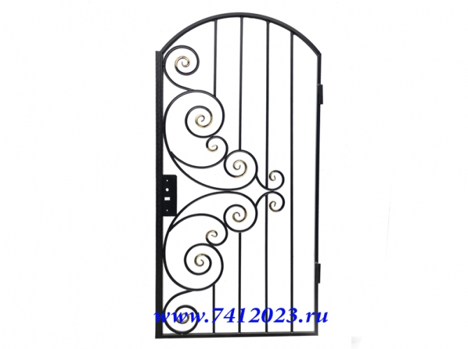 калитка к воротам в загородный дом - 7412023.ru