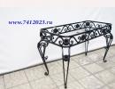 Каркас стола, дача , кованный, своими руками, уличный - 7412023.ru