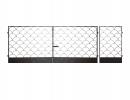 Калитка к сварным воротам №6 - 7412023.ru