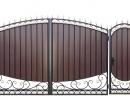 Калитка к кованым воротам №44 - 7412023.ru