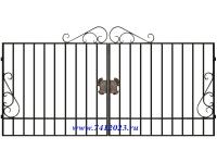 Ворота сварные №12