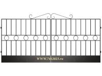 Ворота сварные №2