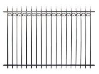 Кованый забор секция К-15.2