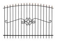 Кованый забор секция КА-15.3