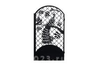 """Калитка №27 """"Павлин на решетке"""""""