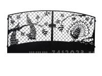 "Ворота №27 ""Павлин на решетке"""