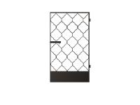 Калитка к кованым воротам №11