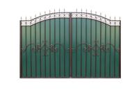 Ворота - зеленые (3,34 х 2,35 м)
