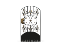 Калитка к кованым воротам №23