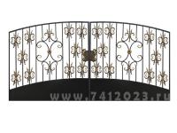 Ворота кованые №23