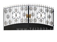 Ворота кованые №23-П