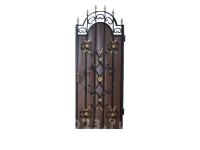 Калитка к кованым воротам №40 коричневая