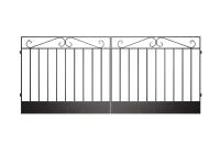 Ворота сварные №3