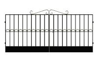 Ворота сварные №4
