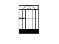 калитка к сварным воротам №5