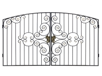 Ворота  кованные №54