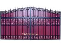 Ворота кованые №56