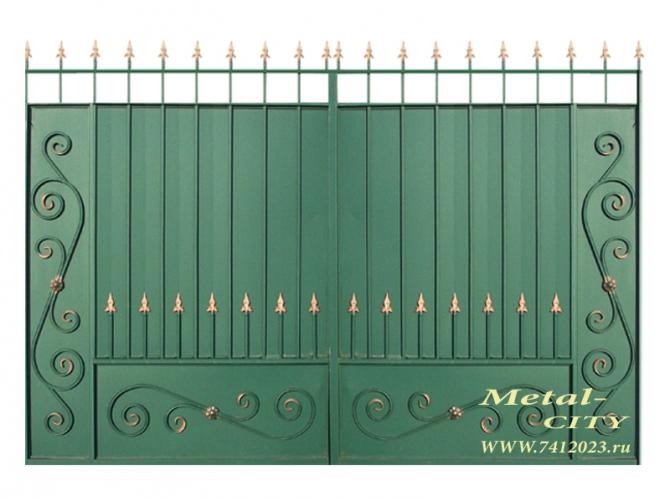 """Ворота №14 """"Викинг"""" - 7412023.ru"""