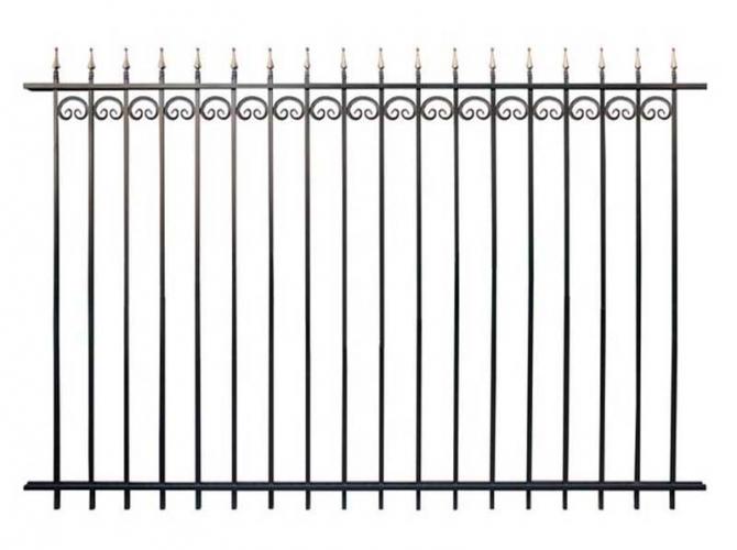 Кованый забор секция К-15.2 - 7412023.ru