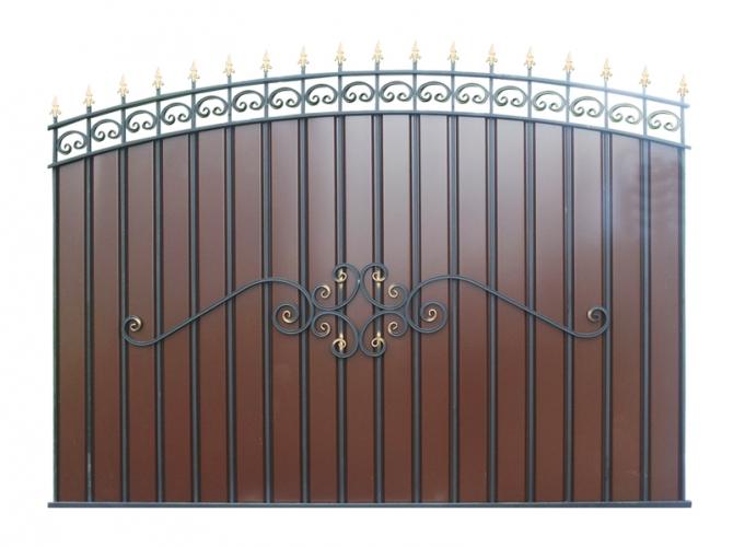 Кованый забор секция КПА-15.1 - 7412023.ru