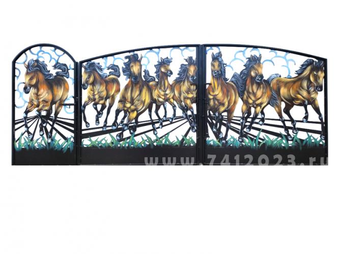 Ворота (3,5 х 1,75м) - 7412023.ru