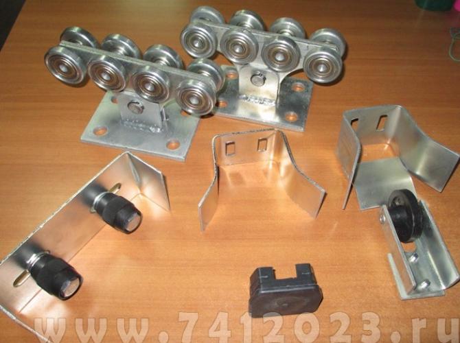 Монтажный комплект откатных ворот (Украина) 400кг - 7412023.ru