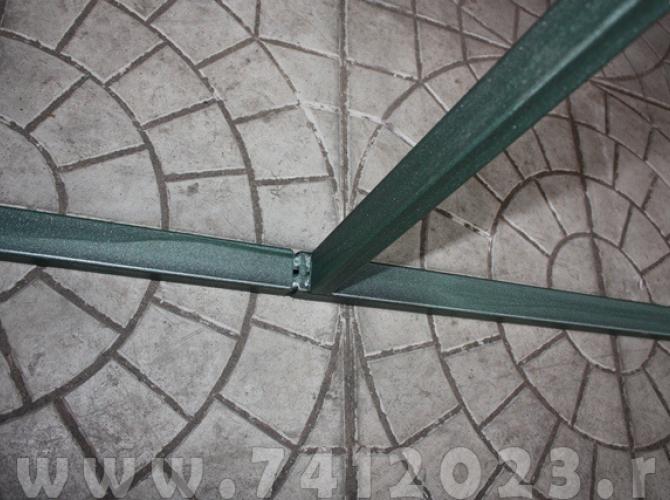 Теплица №2 (4.0 х 3.0 х 2.1м) - 7412023.ru