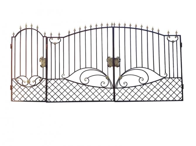 Калитка к кованым воротам №36 - 7412023.ru