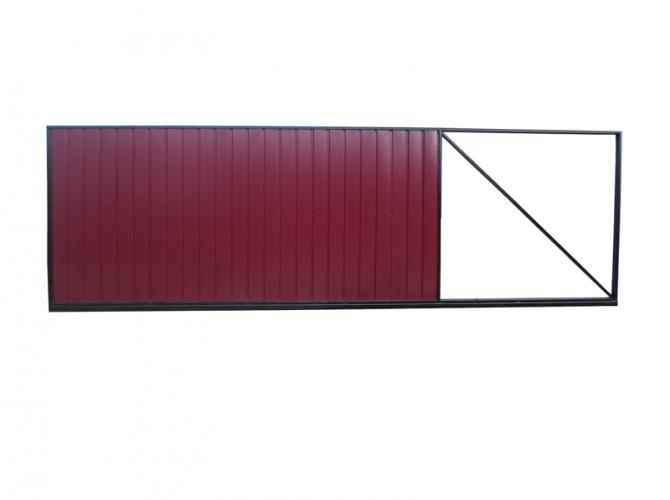 Ворота откатные ковка № 25  - 7412023.ru