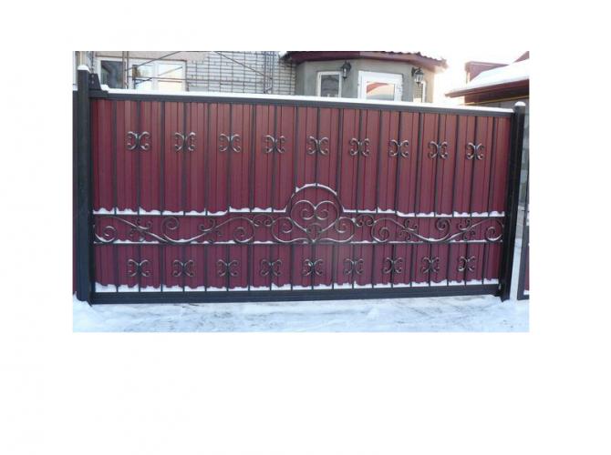 Ворота откатные №3 - 7412023.ru
