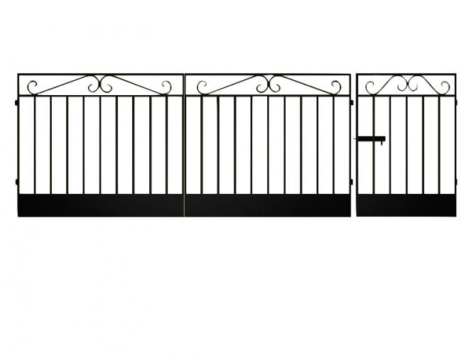 Ворота сварные №1 - 7412023.ru