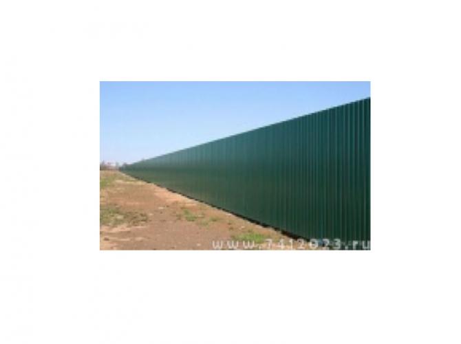Забор профнастил - 7412023.ru