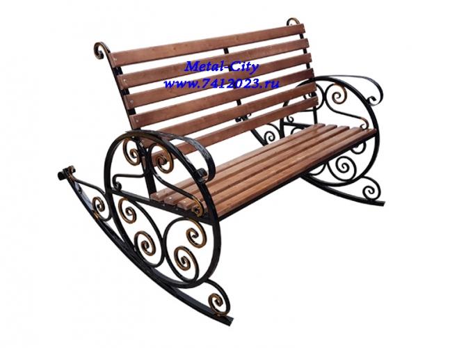 Скамейка-качалка СК-8 - 7412023.ru