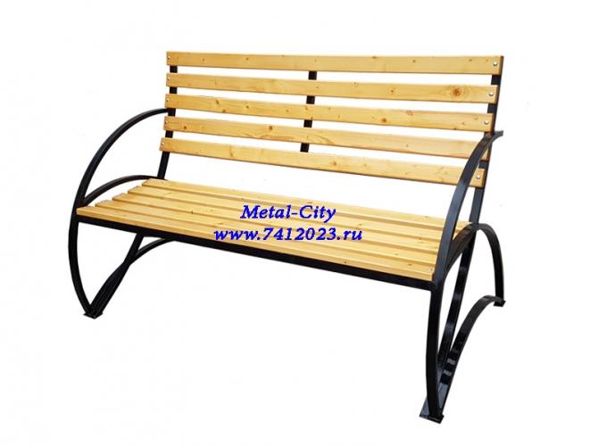 Скамейка садовая СК-15 - 7412023.ru