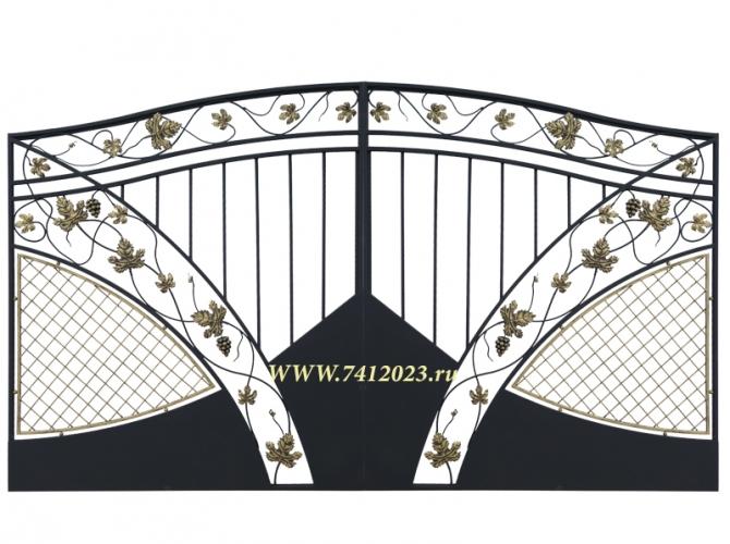 Ворота кованые №59 - 7412023.ru