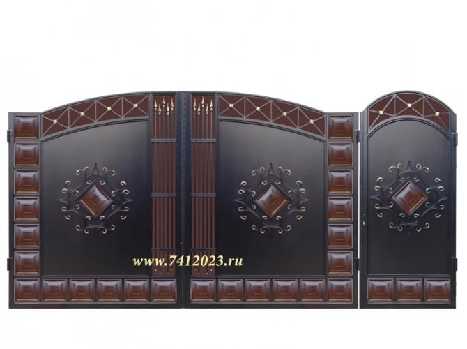 Калитка к кованым воротам №61 - 7412023.ru