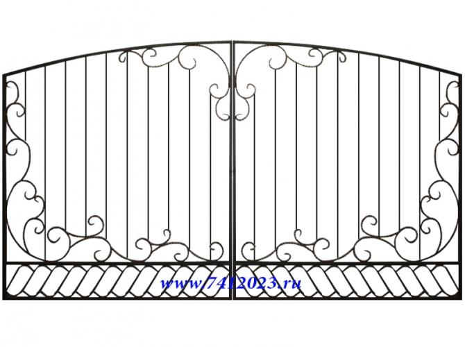 "Ворота №10 ""Афродита"" - 7412023.ru"