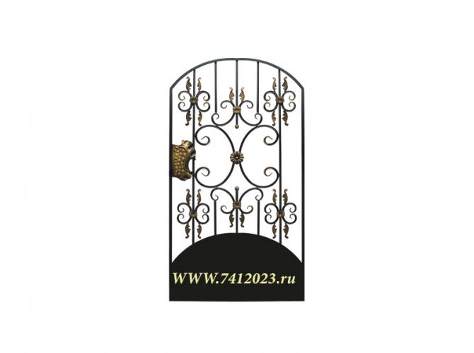 Калитка к кованым воротам №23 - 7412023.ru